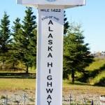 Delta junction - fine dell'alaska highway