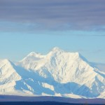 la catena delle Range mountain -vista da delta junction