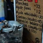 Pura Bici - S.Cristobal- Messico- vediamo un po' il listino...