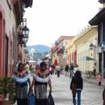 Per le vie di San Cristobal messico