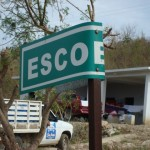 sulla strada tra zipolite a puerto escondido - messico - i seni dell'uragano carlotta