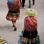 donne al mercato di urcos