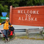 Haines - Alaska pronto a pedalare gli ultimi 1000km...