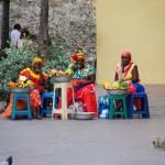 cartagena - venditrici di frutta e foto