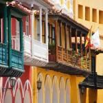 cartagena - terrazzi colorati