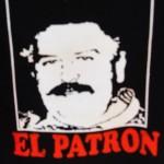 Pablo Escobar - stampa su maglietta del narcotrafficante piu' potente del mondo