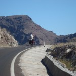 Salita verso Mulege' Mexico