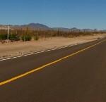 lungo la strada verso San buenaventura- mexico