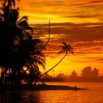 tramonto alle isole san blas