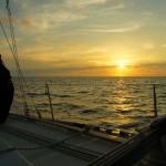 barca a vela cartagena isole san blas.. e la bici ben legata...