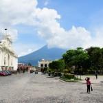 antigua guatemala piazza e cattedrale