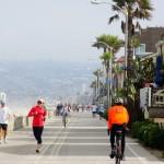 San Diego - Usa - pista ciclabile lungo la spiaggia
