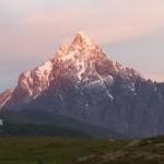 montagne intorno a ushaia