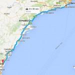 prime due tappe da Barcellona a Sagunt
