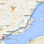 percorso Barcellona - Tarifa