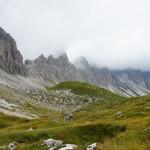 Panorama dal passo Franza