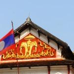 Particolare del palazzo reale - Luang Prabang