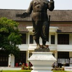 Statua di un ex presidente
