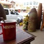 un caffe a Phonsavan