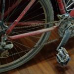 dopo lo sterrato la bici ha bisogno di cure...