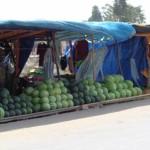 mercati lungo la strada