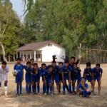 foto di gruppo della nazionale laotiana