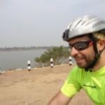 pedalando lungo il Mekong