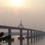 ponte dell'amicizia collega Laos e Thailandia