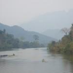 Nong Khiaw - panorama sul fiume Nam Ou