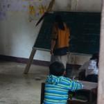 scuola al villaggio di Sopkong