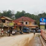 villaggio lungo il percorso