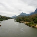 uno dei tanti fiumi attraversati