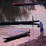 sulle rive del Mekong a Paksan