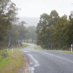 salita verso Miena tasmania