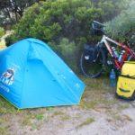 campeggio in rest area